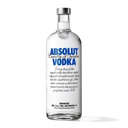 Vodka 1,0l ABSOLUT